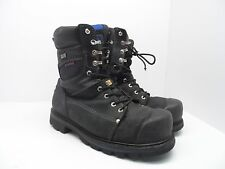 "DAKOTA Men's 557 8"" STCP HD3 Vibram Work Boot Black Size 10 Wide"