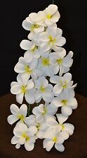Hawaiian Plumeria Artificial Silk Plastic Fake Flowers Hanging Bunch Decor New