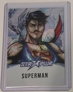 2018 Cryptozoic DC Bombshells Silver STR PWR Star Power Superman ST04 1:288