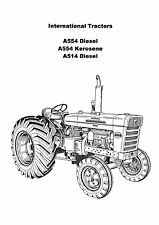 IHC A514 Diesel, A554 Diesel & Kerosene (6&7 series) workshop manual photocopy