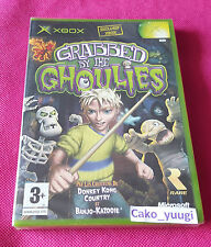 GRABBED BY THE GHOULIES XBOX SOUS BLISTER ETIQUETTE VERSION FRANCAISE RAREWARE