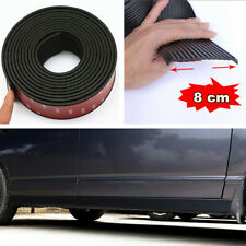 DIY Automobile 4M 8cm Side Skirt Anti-collision Splitters Diffuser Rubber Strip