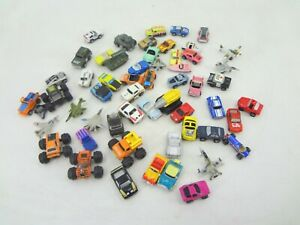 MICRO MACHINES LOT OF 56 ASSORTED CARS & PLANES