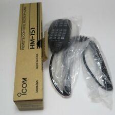 ICOM HM-151 Full Keypad Remote Control Microphone Ham Radio New