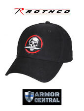 NEW Rothco Skull / Knife Deluxe Low Profile Insignia Baseball Cap / Hat - 9813