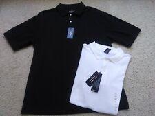 New Lot Teen Boys Size 18 Class Club S/S Uniform Polo Shirts Black White Nwt