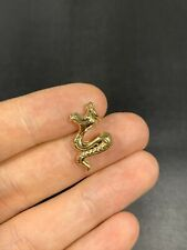 Pretty 9ct Gold Snake Charm