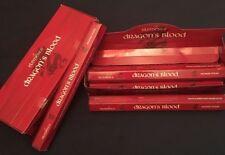 New Case Of Elements Dragon's Blood Incense Joss sticks. 120 sticks. 6 packs.