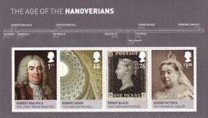 2011 The Hanoverians, Miniature Sheet MNH