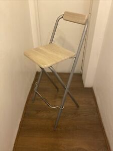 Ikea, 1x high, folding breakfast bar stools