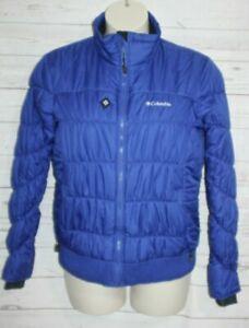 Columbia Omni Shield Women's Ski Snowboard Jacket Puffer Jacket Winter Blue L