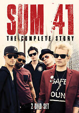 SUM 41 New Sealed 2017 COMPLETE BIOGRAPHY & INTERVIEWS 2 DVD BOXSET