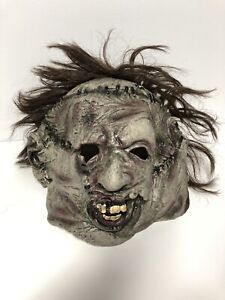Leatherface Mask Texas Chainsaw Massacre Rubies New With Tags Halloween Horror
