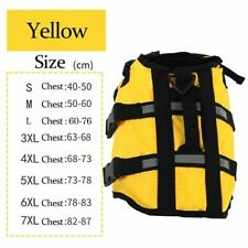 Hot Pet Dog Life Jacket Safety Vest Surfing Swimming Clothes Vacation Breathable