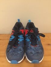 Reebok ZigTech Squared  Mens Running Training Shoes Size 6 Blue Black White