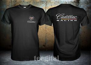 Cadillac Racing Car Logo T Shirt