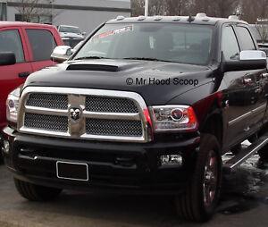 Hood Scoop for Dodge Ram HD 2500 3500 By MRHoodScoop UNPAINTED HS009