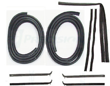 81-93 DODGE RAM PICKUP TRUCK WINDOWFELTS DOOR SEALS RUBBER WEATHERSTRIP KIT