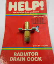 Dorman 61105 1/8'' NPT Radiator Drain Cock w/ Outlet