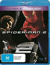 Spider-Man 2 (Blu-ray + Ultraviolet, 2014) BRAND NEW AND SEALED