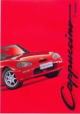 Suzuki Cappuccino Dutch market sales brochure