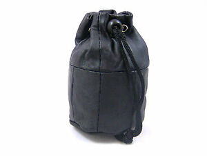 REAL LEATHER COIN PURSE COIN POUCH DRAWSTRING PURSE WRIST PURSE WRIST POUCH