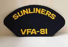 Sunliners VFA - 81 Attack Squadron Zapper Patches Patch USN US Navy Military US