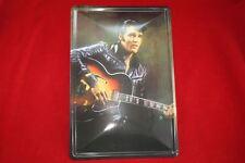 Blechschild 20x30 cm Elvis Presley in Lederjacke+Gitarre King Sign Schild Signs