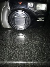 Vintage Pentax Zoom 105 Super 35mm Auto Focus Film Camera with carrying case