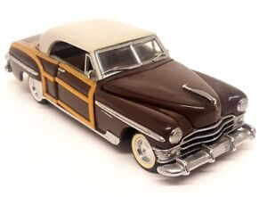 Franklin Mint - 1950 Chrysler Town And Country Diecast Model Car - Resto Repairs