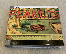 Peanuts The Art of Charles Schultz Book Pantheon 2001 Hardcover