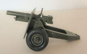 Britains Army Military WW2 25 Pounder Howitzer Gun -  W Britain Model Guns Olive