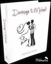 Wedding Planner Diary/Journal/Organiser/Personalised - Happy Couple