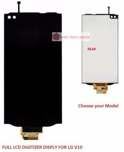 Full LCD Digitizer Glass Screen Assembly Display replacement Part for LG V10 usa