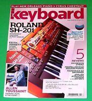 Keyboard Magazine November 2006 Allen Toussaint Keith Jarrett Cyrus Chestnut VGC