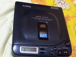 DISCMAN AIWA DX-P50 COMPACT DISC CD PLAYER RARE