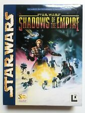 Star Wars Shadows Of The Empire PC game in big box