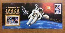{BJSTAMPS} 2842 mint 1994 Space Exploration Cover Signed By designer LE