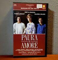 PAURA E AMORE (1988) VHS RARA Film Raro Margarethe Von Trotta Scacchi Golino