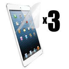 3 X Ultra Trasparente Anteriore Protettore Schermo Protezione Scudo per iPad Air 1 & 2