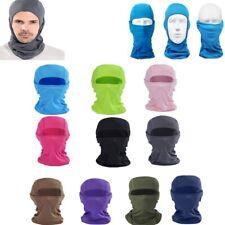 Full Face Mask lycra Balaclava Ultra-thin Motorcycle Cycling Ski Neck Protector+