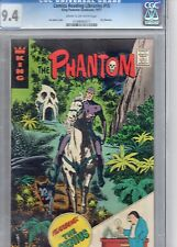 Very Rare! Unlisted. Phantom #15 By King Promotional Reprint 1977 CGC 9.4