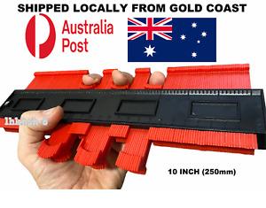 10 Inch Shape Contour Gauge Duplicator Circular Frame Profile Tool Red
