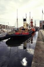 PHOTO  1992 STEAM TUG CANNING SWANSEA THIS WAS OUTSIDE THE ORIGINAL SWANSEA INDU