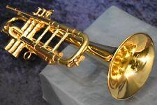 "Henri Selmer Paris model ""K-Modified"" C Trumpet (convertible C/Bb) w/case, mpc"
