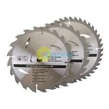 TCT Circular Saw Blade 190 x 16 - No Ring 20, 24, 40T 3pk