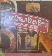 "12"" VERY RARE LP EUROPIAN TOUR 1977 BY THE CARLA BLEY BAND (1978) WATT WATT/8"