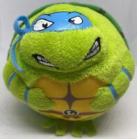 """TY Beanie Ballz Teenage Mutant Ninja Turtles Leonardo 4"""" Plush Turtle Ball TMNT"""