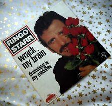 RINGO STARR - Wrack my Brain * 1981 France * TOP SINGLE (M-:)) BOARDWALK 101575