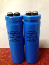 2PCS Sprague 36DX 33000UF 63V Large Can Capacitor Screw Terminal 35X120 #E258 YX